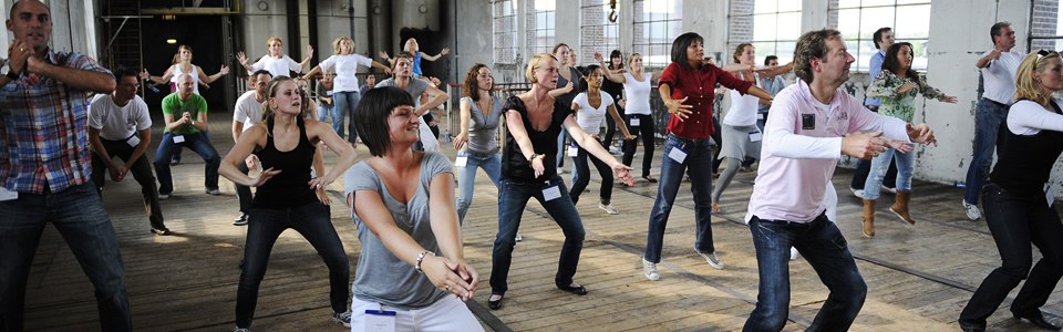 Dans workshop als teamuitje Dansen